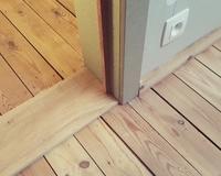 Detail deur.